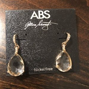 ABS Tear Drop Earrings